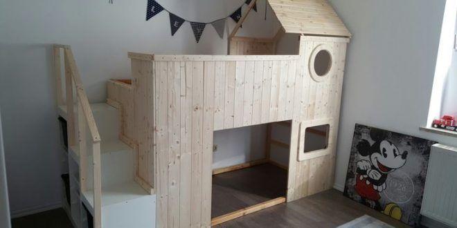 Ikea kura hack diy Source by uemitguevenc Kinder zimmer