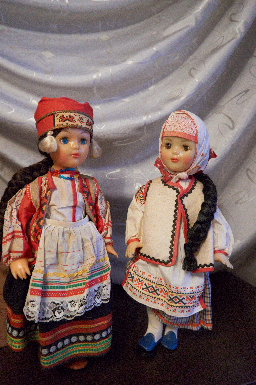 куклы в костюмах ссср
