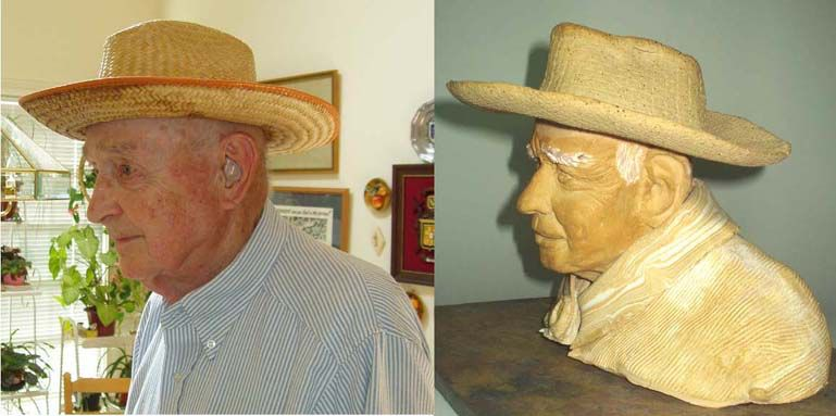 John Horas on his 90th Birthday