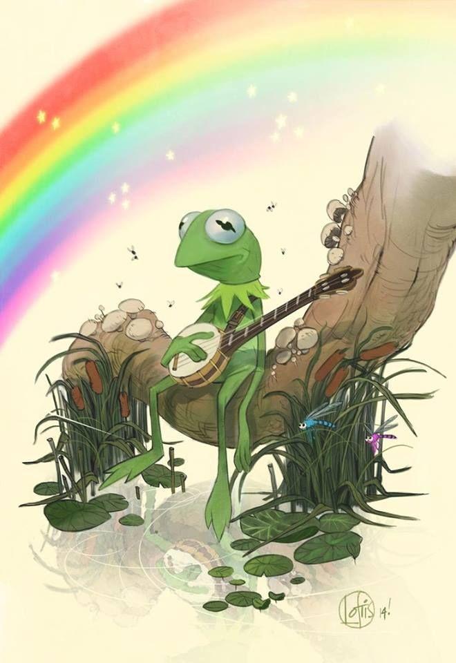 Cory Loftis Frog Illustration Art Character Design