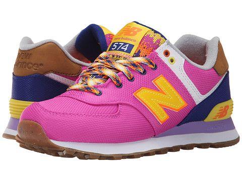 Women's New Balance Classics WL574 Urchin/Multi Sneakers (Azalea