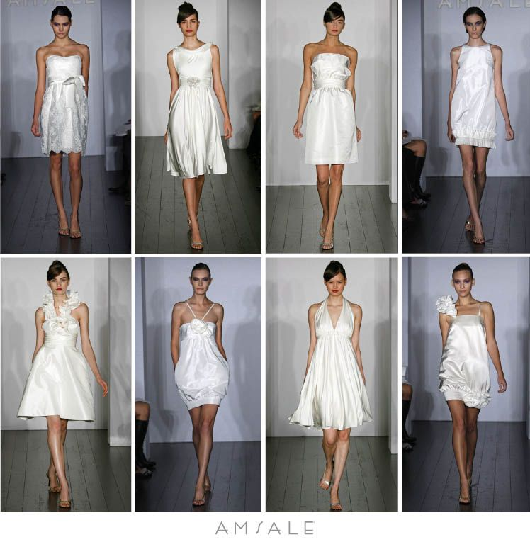 The Little White Dress collection by Amsale is available at Meg ...