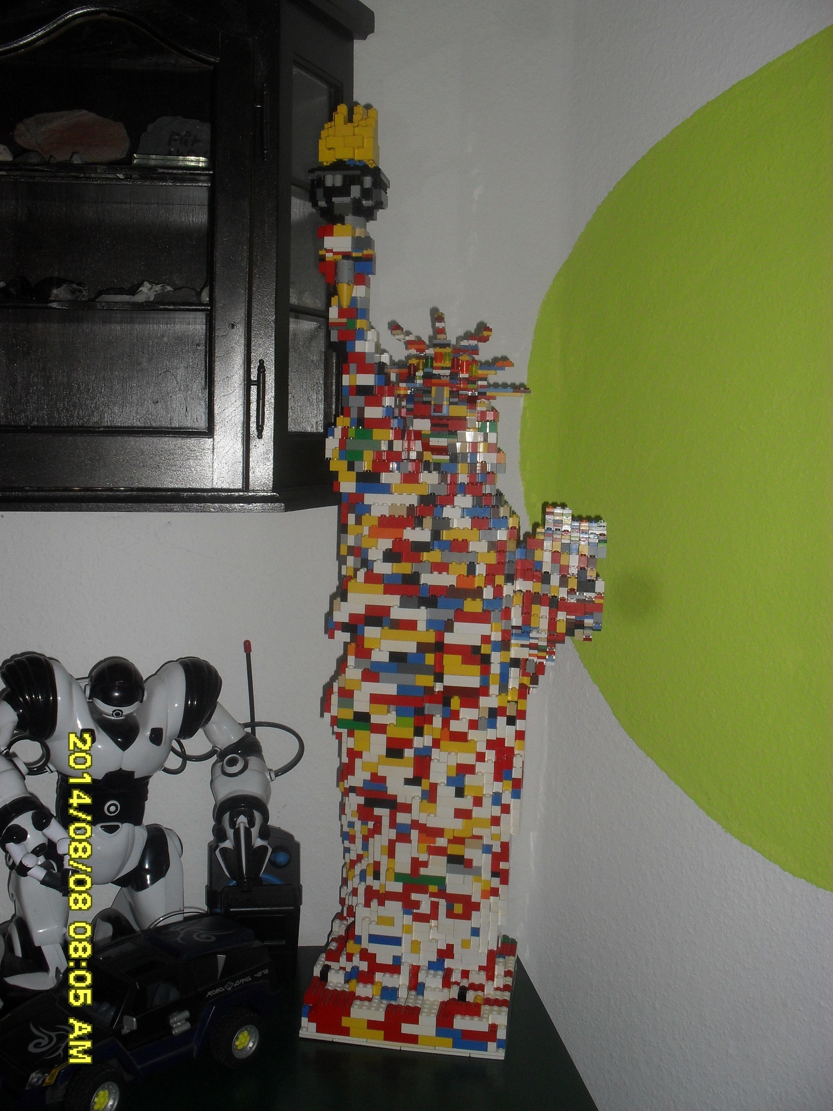 Lego Freiheitsstatue 86 cm hoch