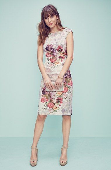 Adrianna Papell Dress & Accessories available at #Nordstrom ...