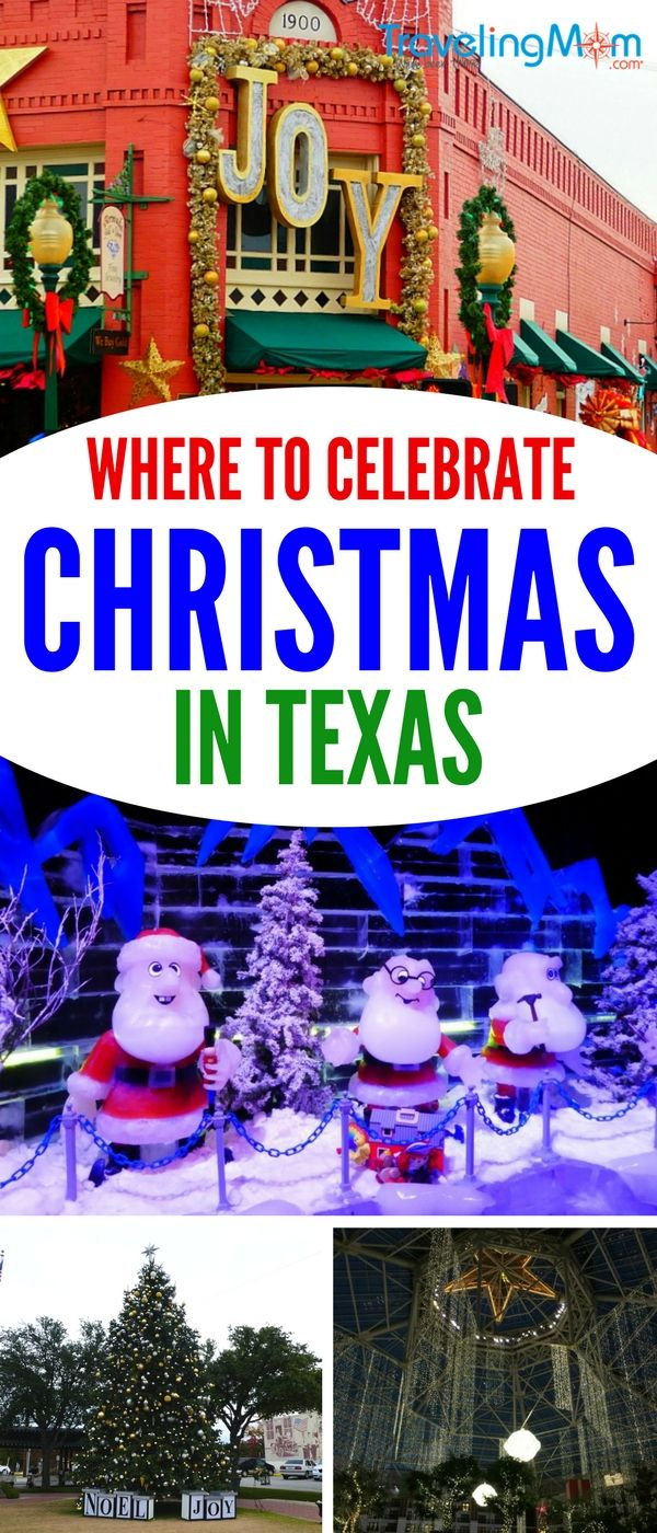 Where to Find Christmas in Texas Christmas travel