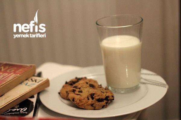 Damla Çikolatalı Amerikan Kurabiyesi (chocolate Chip Cookie)