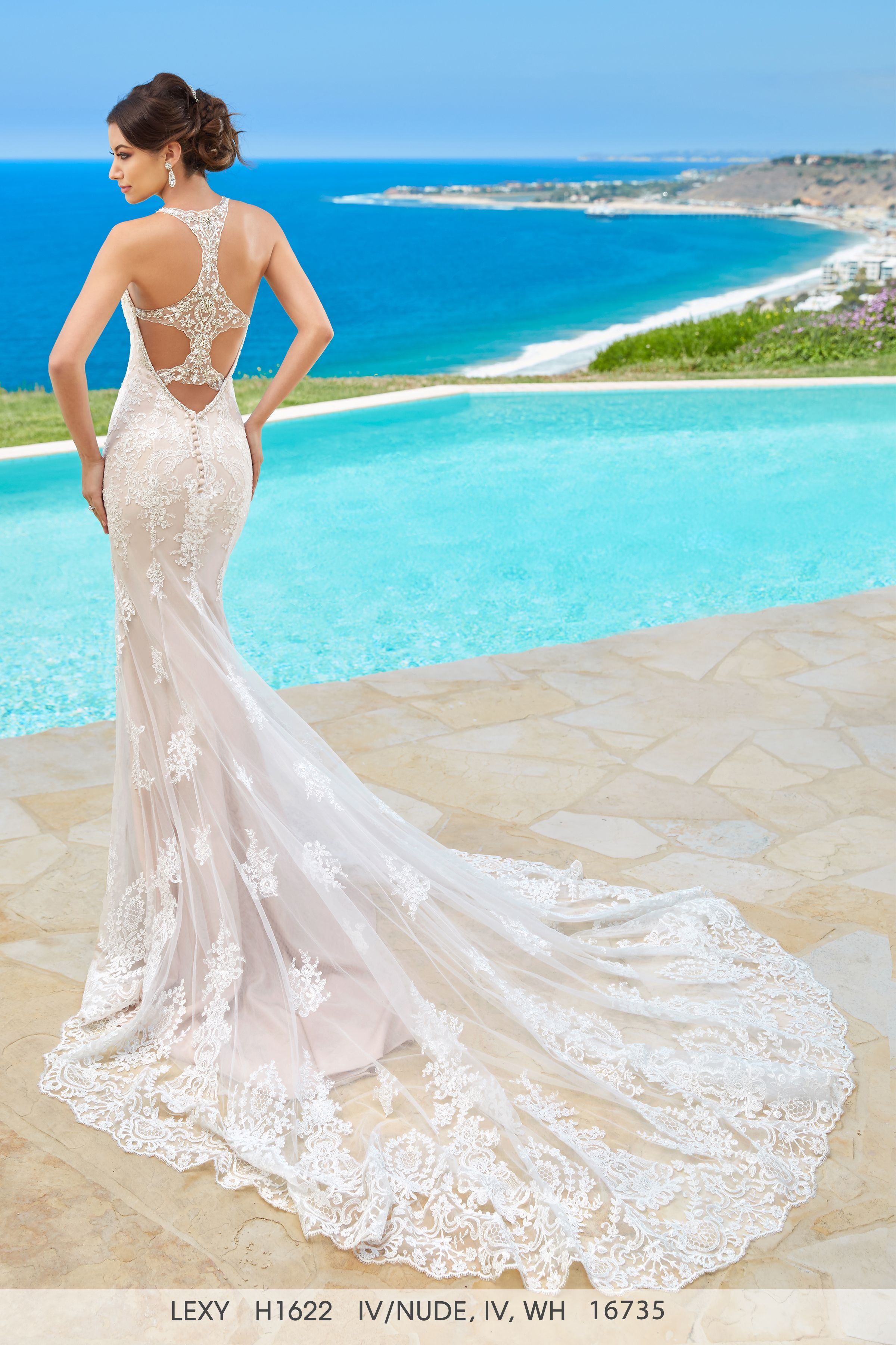 Pin by Kittychen Couture UK on Kittychen Couture low back wedding ...