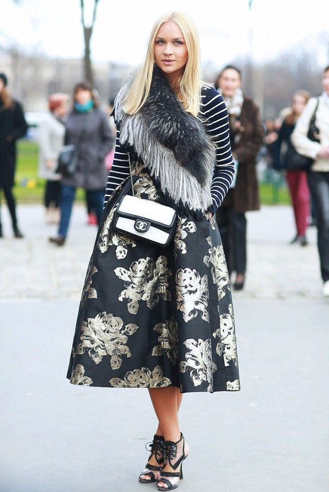 3687b538697bf The Most Stylish New Year's Eve Outfits Spotted on Pinterest via @ WhoWhatWear SHOES