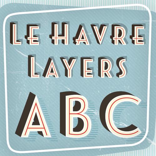Great Type Great Is Art Deco Typography Vintage Fonts Havre