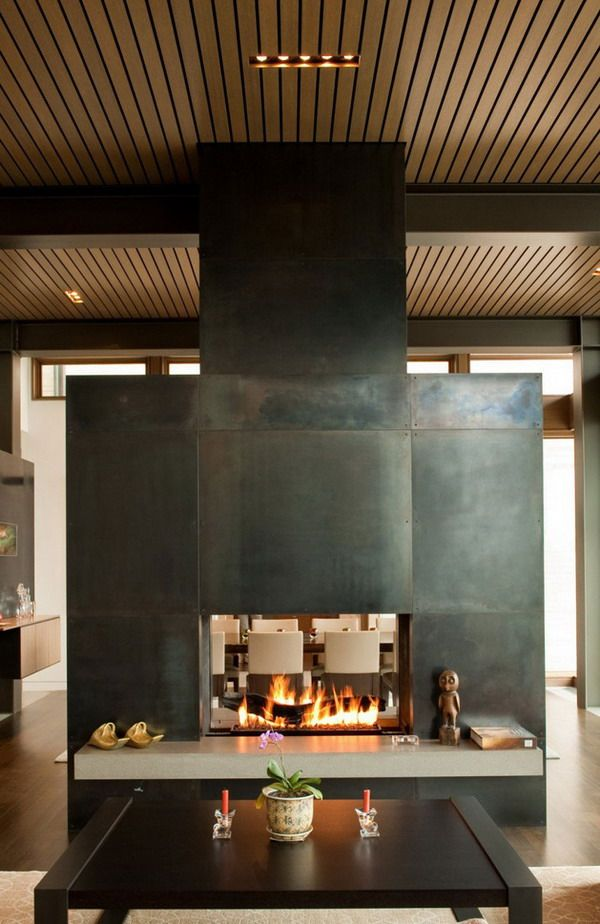 H Shaped Home Designs Part - 39: Architecture Design H Shaped Home Design With Water Inspiration Fireplace  Architecture Design Ideas: H Shaped