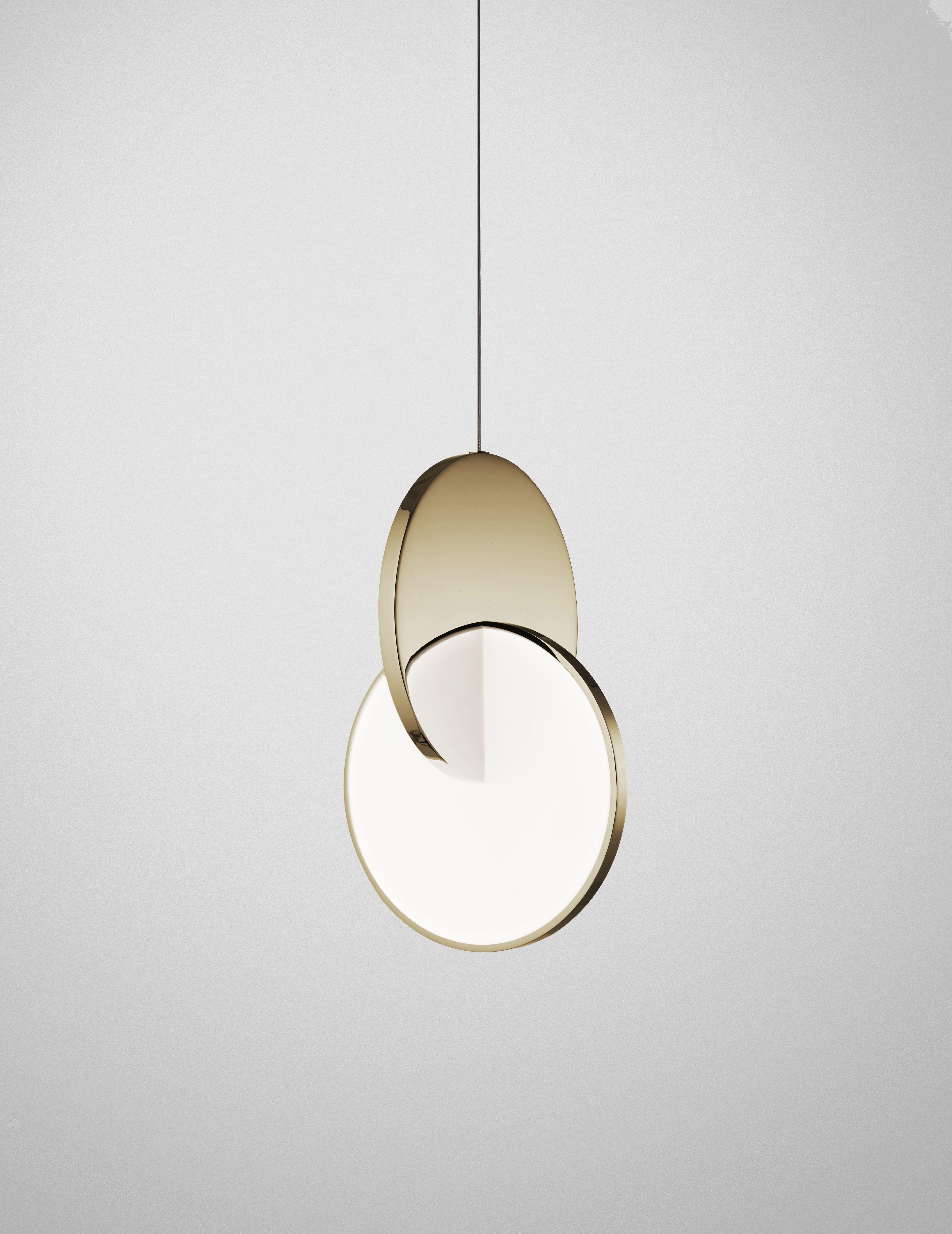 Eclipse Pendant Polished Gold Leebroom Pendant Light Light Light Architecture