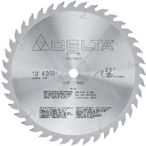 Delta 35 7657 10 Inch 40 Tooth General Purpose Circular Saw Blade Amazon Com Circular Saw Blades Circular Saw 10 Things