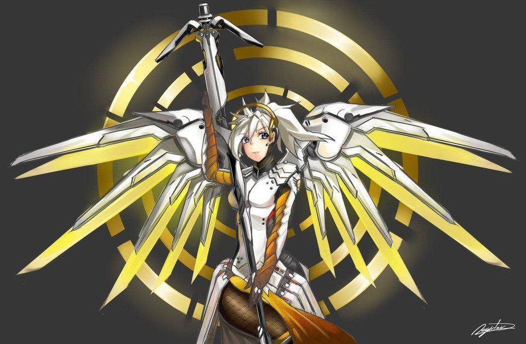 Mercy overwatch 고급 시계
