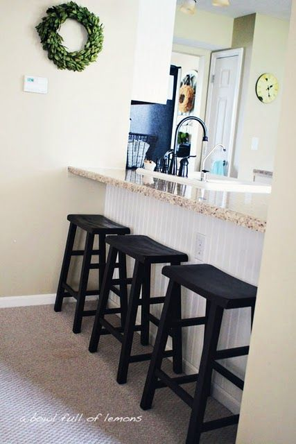 Love The Barstools From Walmart Kitchen  Pinterest  Bar Simple Walmart Kitchen Stools Design Decoration