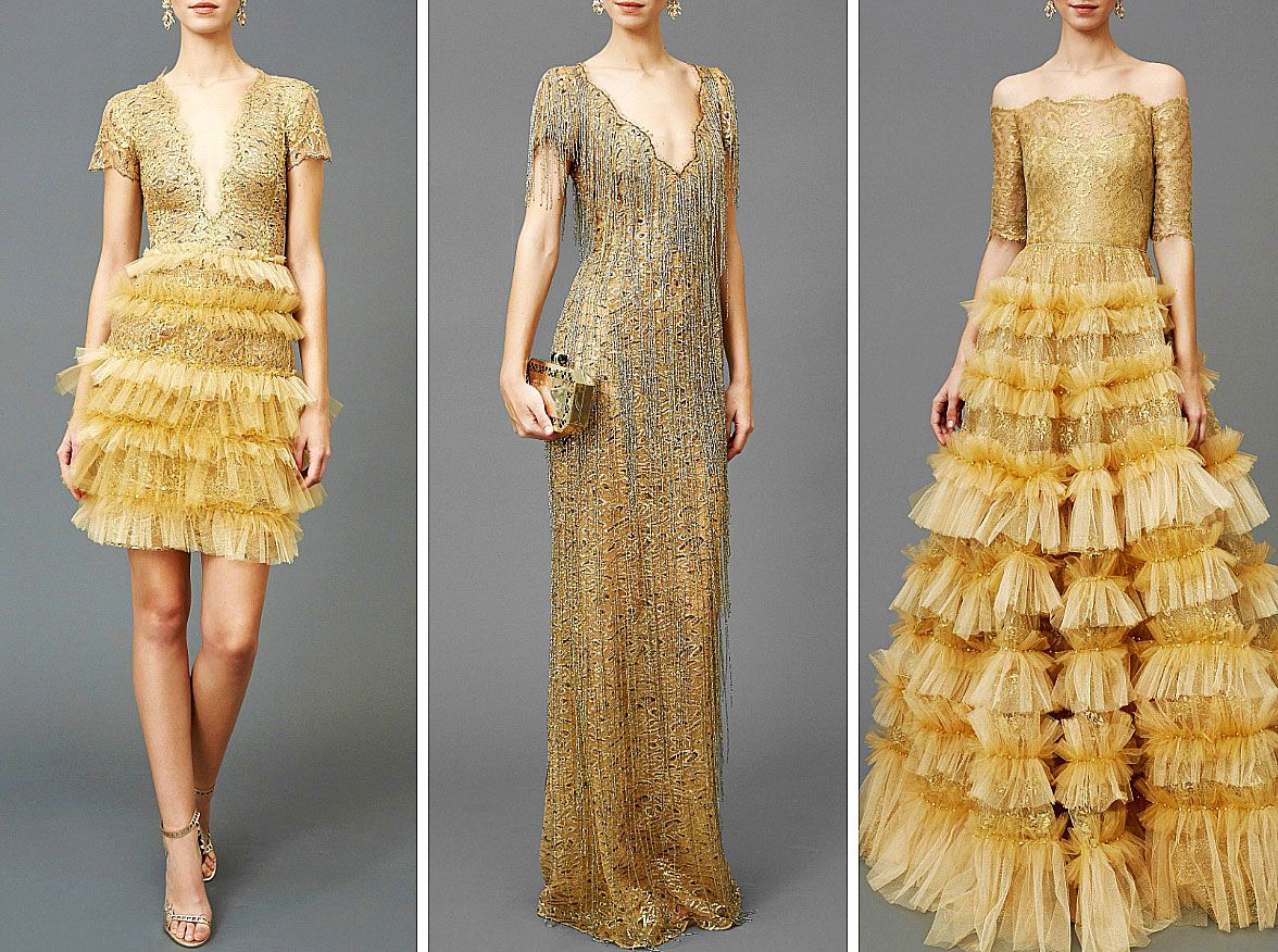 People will stare. Make it worth their while → Marchesa   Pre-Fall '16