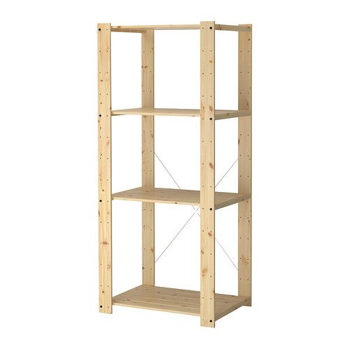 Gorm Shelving Unit Ikea Untreated Wood Can Be Treated With Oil Or Glazing Paint For