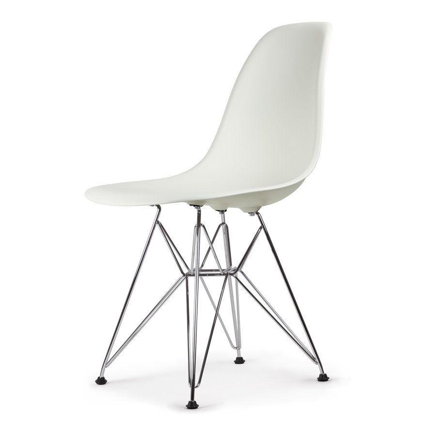 Vitra DSR Eames Plastic Side Chair Stuhl   Weiß #solebich #einrichten  #einrichtungsideen #