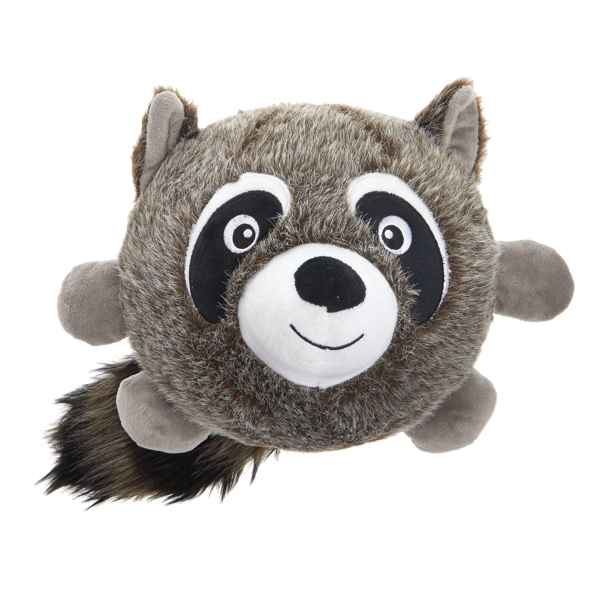 Toys R Us Pets Raccoon Ball Dog Toy Plush Toys R Us Pet