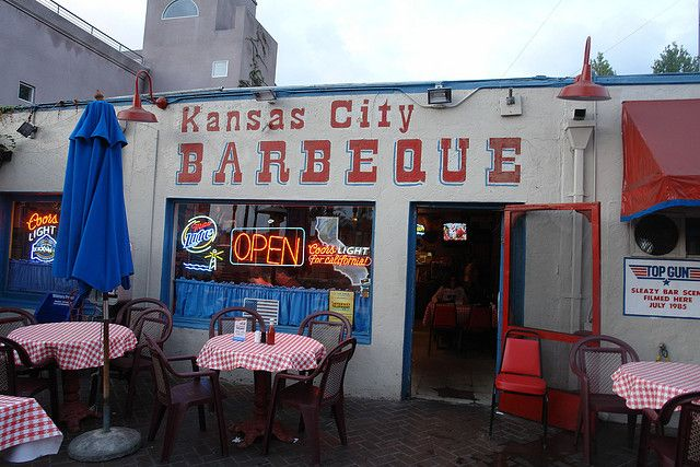 Ordinaire Kansas City BBQ In San Diego, CA (Top Gun Scene).Husband Played For The  Baru0027s Baseball Team And Were Friends With The Bartender That Coached The  Team.