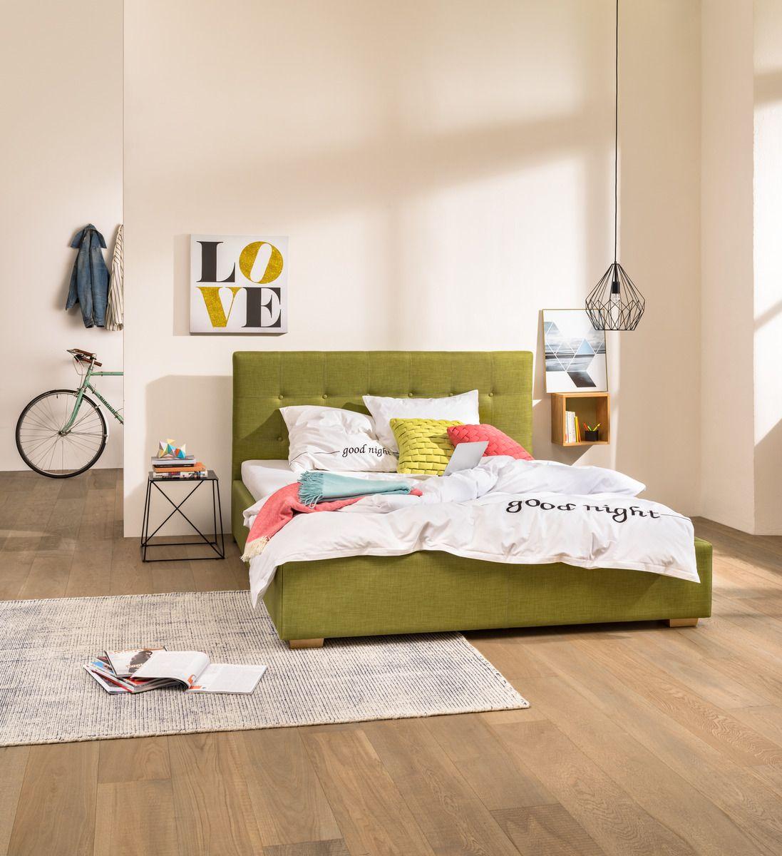 Micasa Schlafzimmer mit Polsterbett DUMONT (in diversen Farben und ...