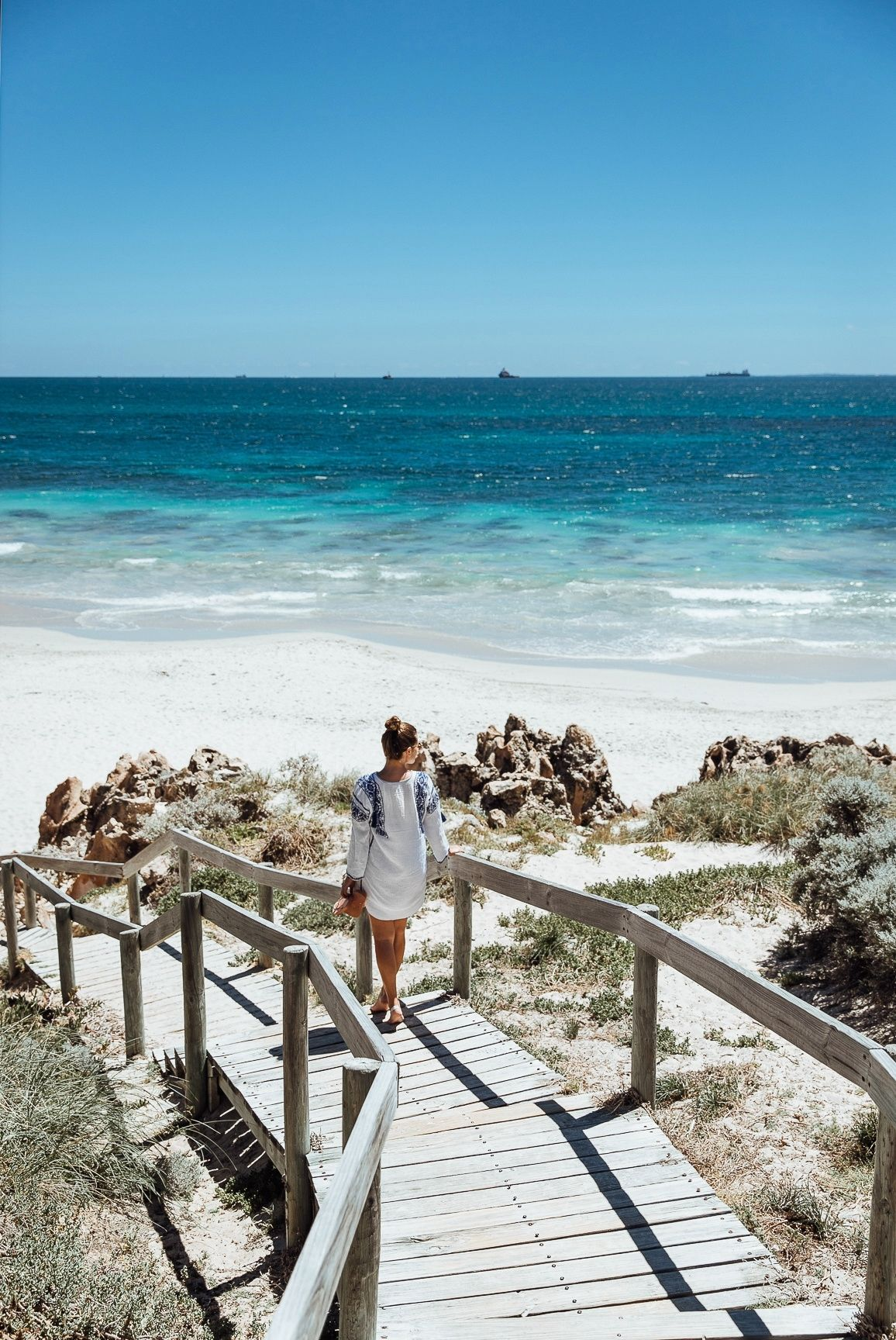 Cottlesloe Beach in der Nähe von Perth in Western Australia - Traumstrand in Australien