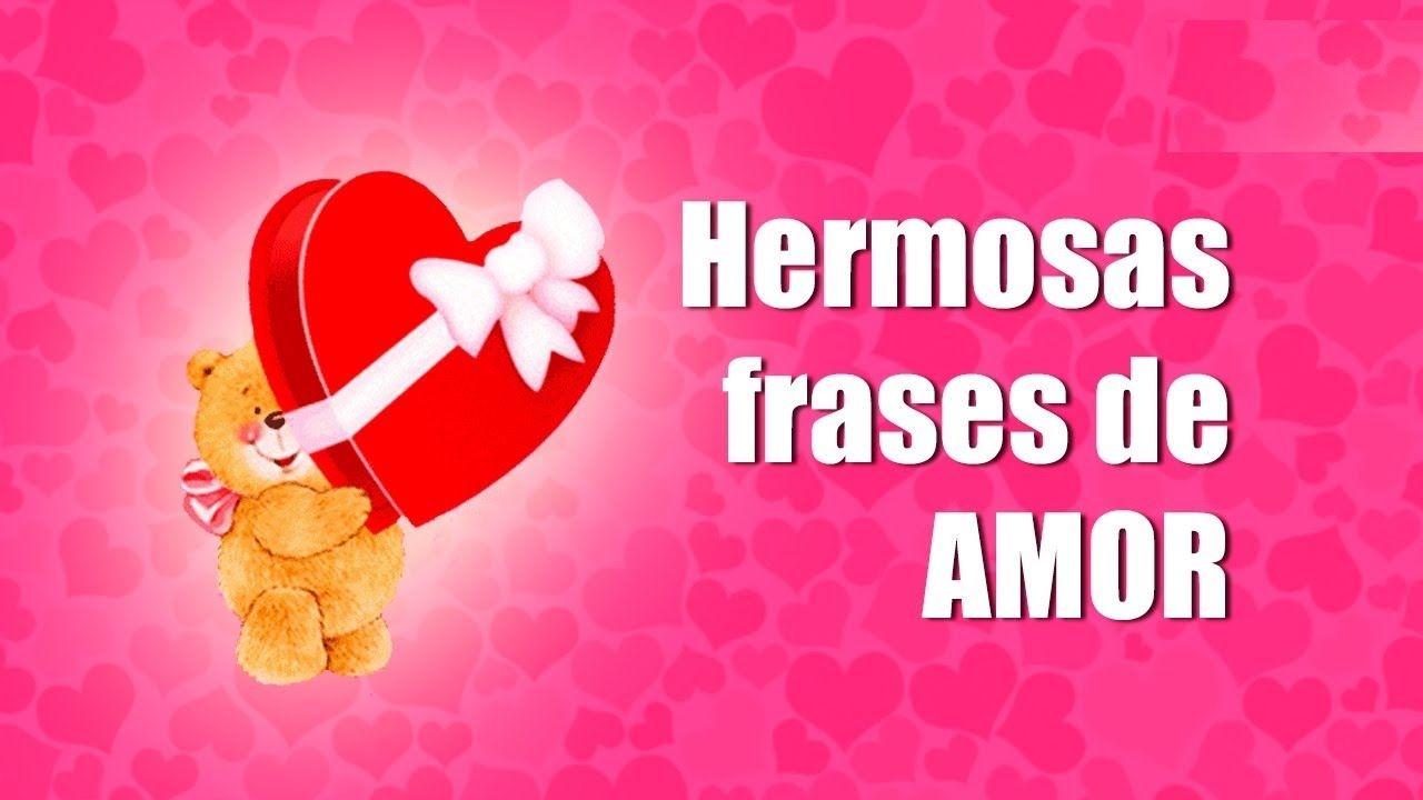 FRASES BONITAS CON IMAGENES DE AMOR ♥