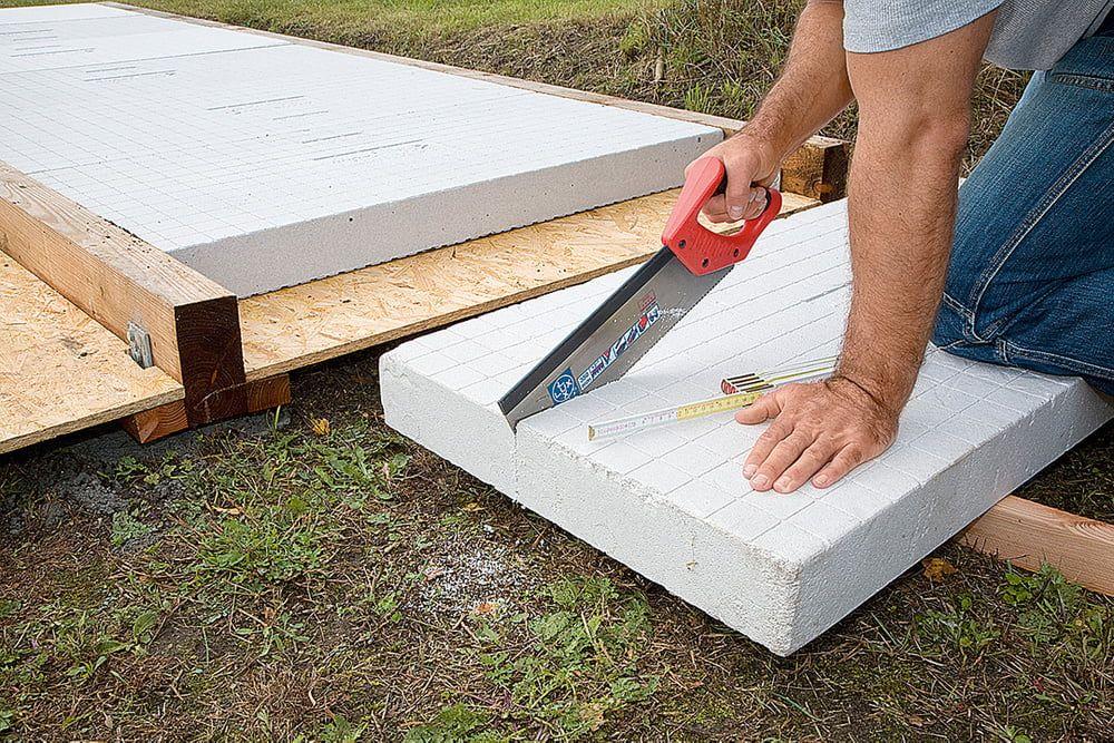 Gartenhaus Selber Bauen Schritt Fur Schritt 1 Bauabschnitt Mit Gratis Anleitung Fundament Gartenhaus Gartenhaus Selber Bauen Gartenhaus