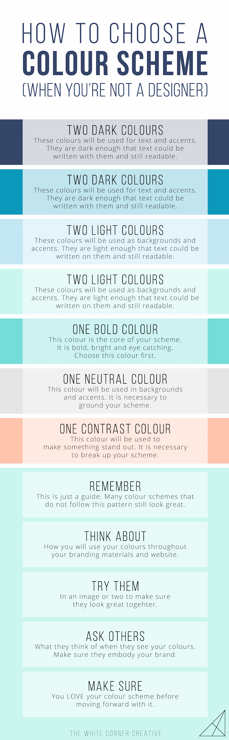 Your Colour Scheme Is The Base Of Entire Visual Brand So It S Vital That You Choose A Good One Here How To Pick Gorgeous On Own