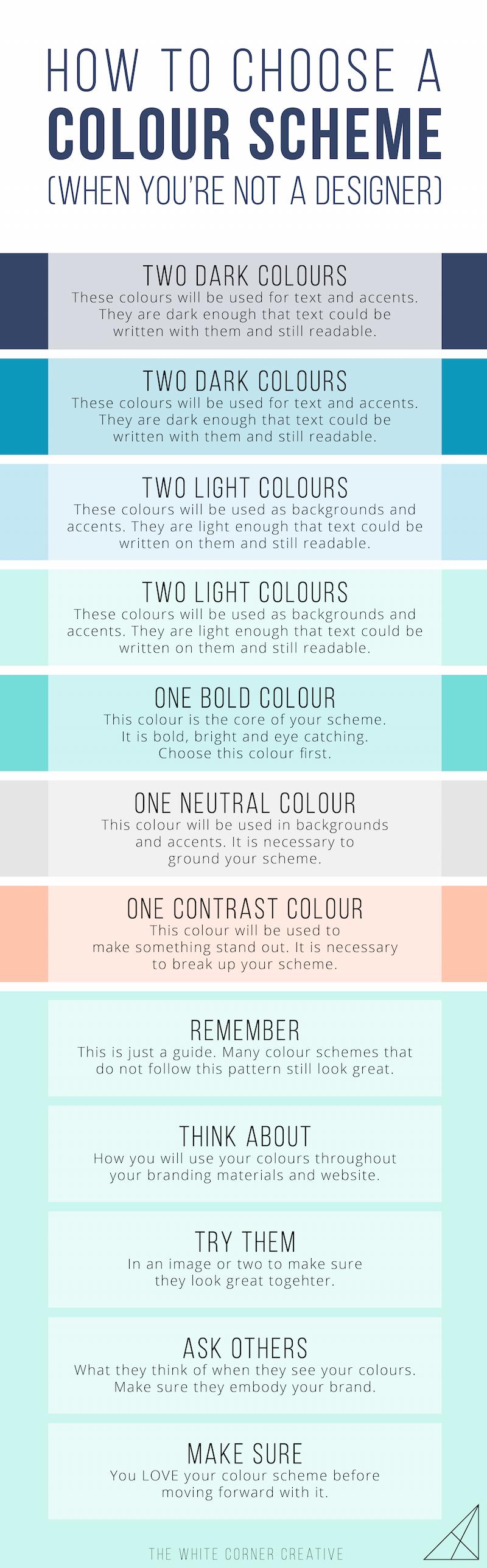 how to choose a colour scheme when you u0027re not a designer