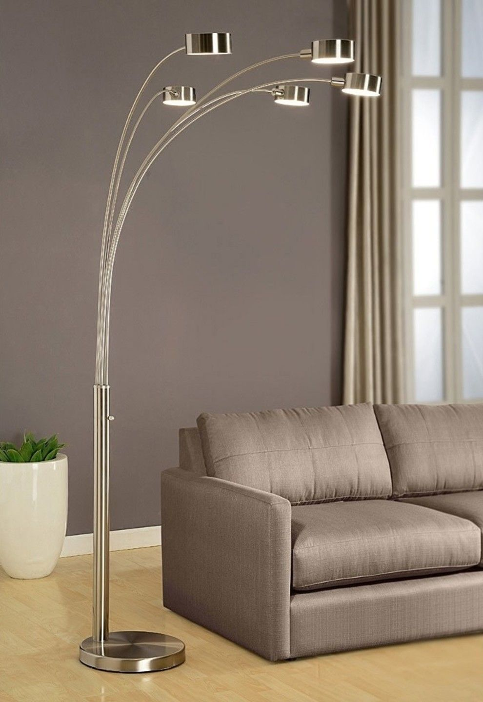 31 Lamps That Will Light Up Your Life Contemporary Floor Lamps Tree Floor Lamp Arc Floor Lamps