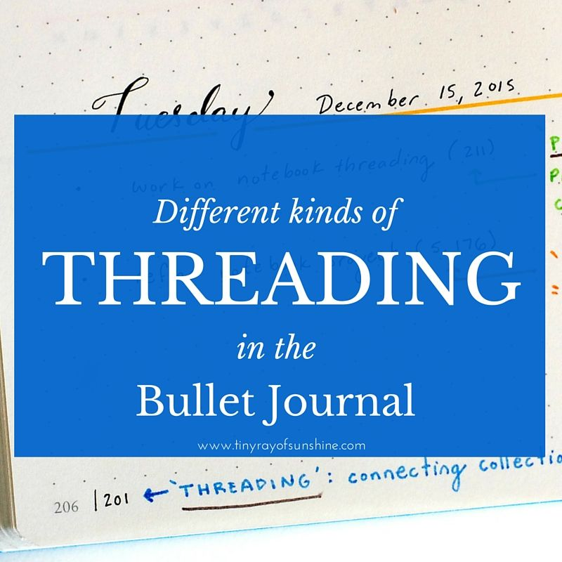 Today I want to share with you a VERY handy hack to get more out of your Bullet Journal. I find it extremely effective and seamless. It has increased the efficiency of my workflow - hopefully you'll find it helpful too!