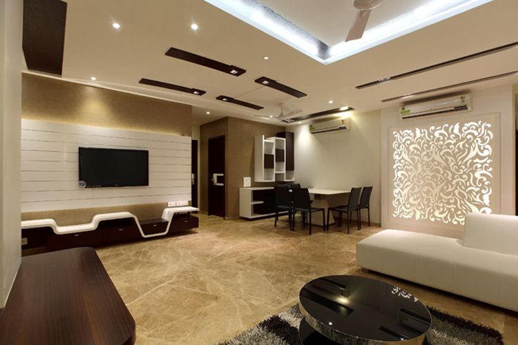 Architects india architects mumbai architects bombay - Wall units for living room mumbai ...