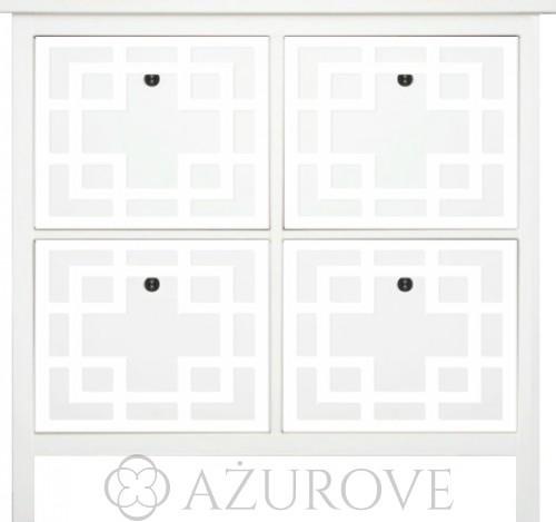 Komplet Paneli Dekoracyjnych Wz 30 Do Szafki Na Buty Ikea Hemnes 4