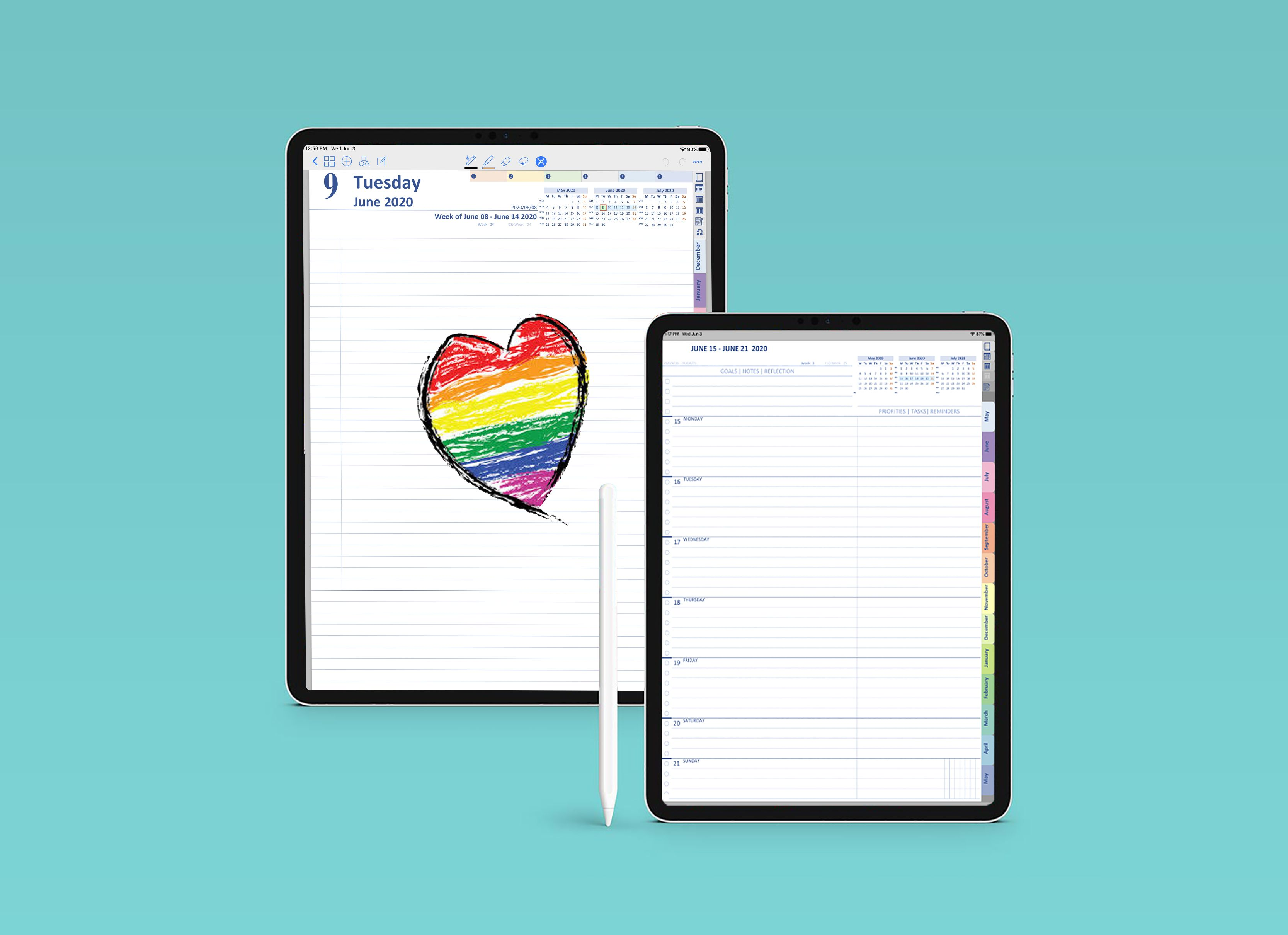 Pin On Digital Planner Journal Printable