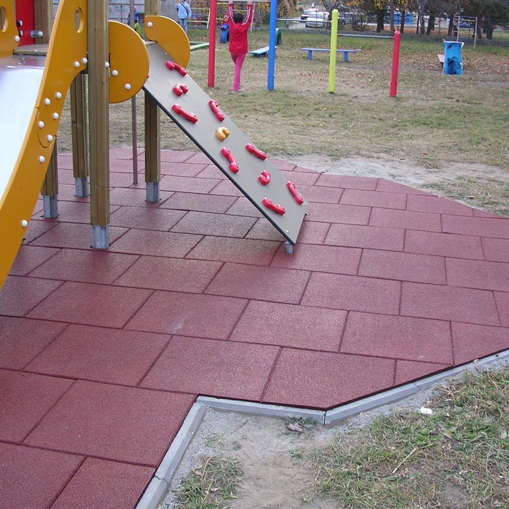 Playground Rubber Flooring Tiles Rubber playground