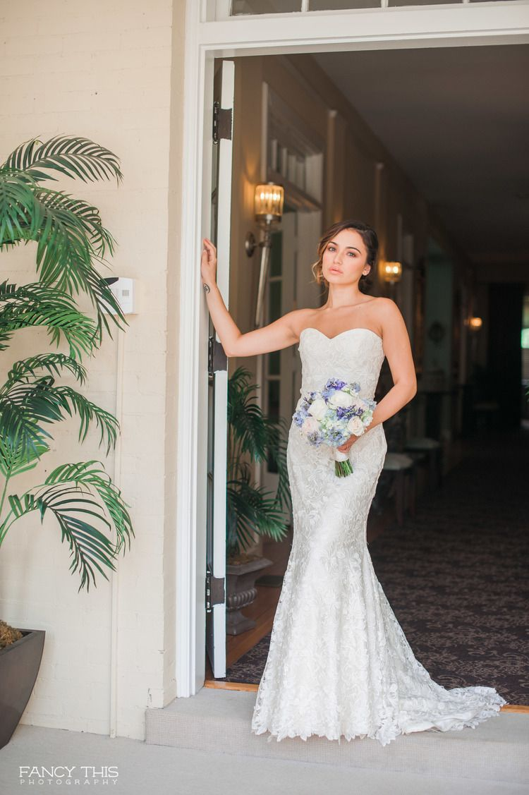 Modern Trousseau Wedding Dress At The Kings Daughters Inn In Durham Nc