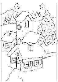 Risultati Immagini Per Disegni Paesaggi Invernali Shabloni