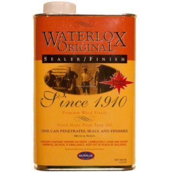 1 Unit of Waterlox Original Sealer/Finish 1 Quart (TB 5284)