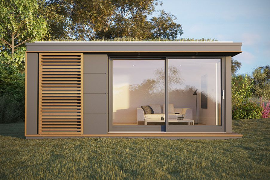 Garden studios offices rooms buildings eco homes from for Eco garden office
