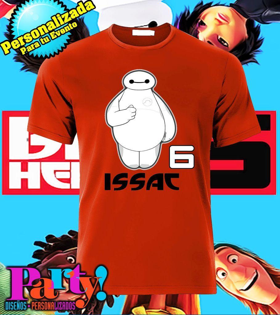 Playera Personalizada Big Hero 6 - Comprar en Jinx  5748265f85d98