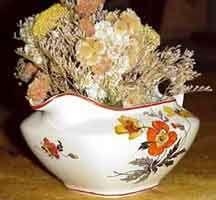 Flores secas: arreglos y centros.