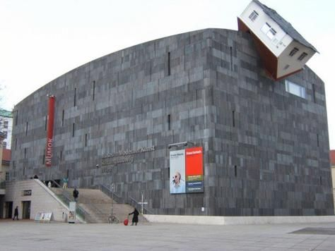 Another One Hits The House Museum Moderner Kunst Stiftung Ludwig Wien Mumok Vienna Austria Architecture Building Amazing Buildings