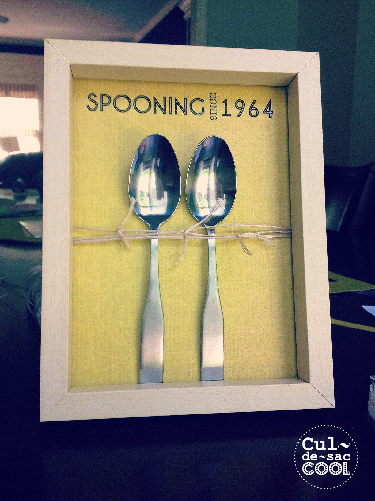 DIY Spooning Anniversary wedding Valentine s Day Gift 7