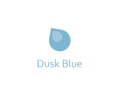 Dusk blue - If you are smiling even after a bad day, you are probably a fan of blue. You could do well as an agony aunt, given your ability to help people with your wisdom and support. You might appear reserved and bossy to those who don't know you well, but you make a great partner with traits like honesty and loyalty.