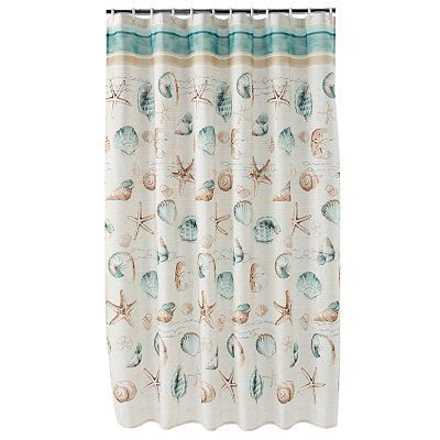 bathroom accessories at kohls shop our full line of bath essentials including this home classics sea splash fabric shower curtain at kohls - Bathroom Accessories Kohl S