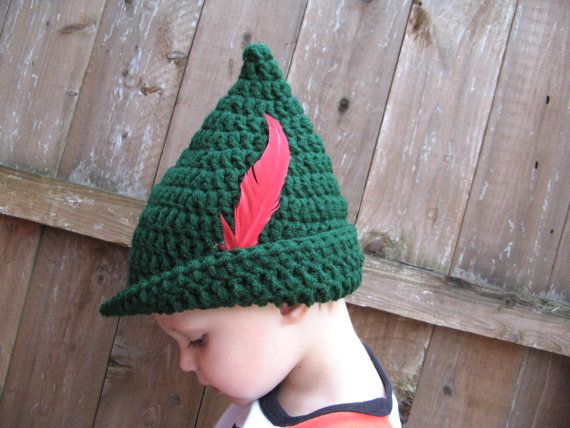 ad5512fa625 Peter Pan   Robin Hood Hat MADE TO ORDER by PigsyRose on Etsy ...