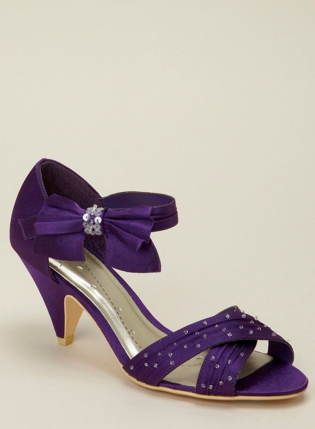 Purple Bridesmaid Shoes From BHS
