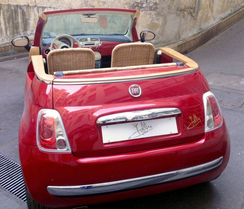 Fiat 500 Jolly 2015 By Jollycar A Coachbuilt Open Top Version