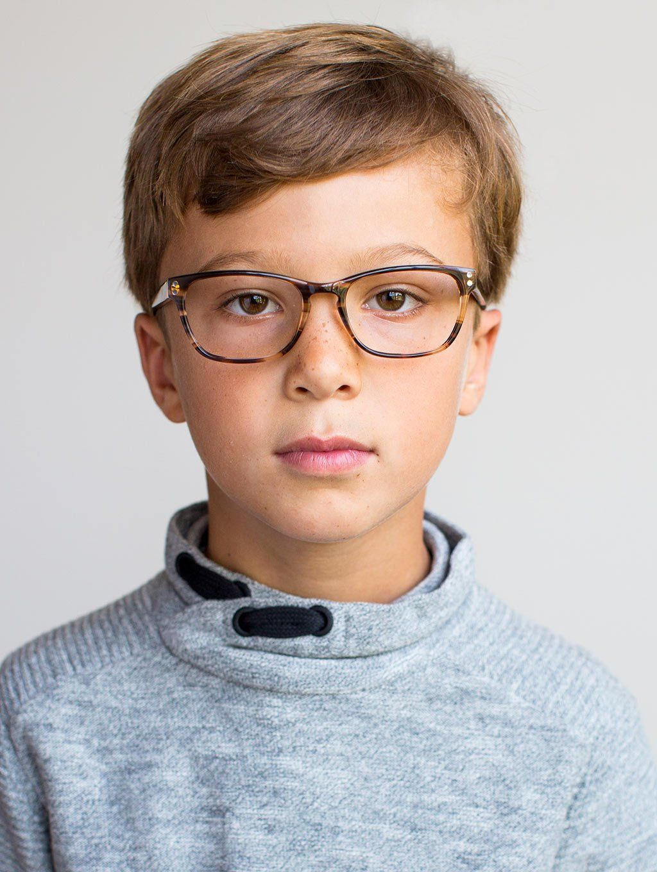 5b401e6d3b Kids Glasses    The Lincoln Striped Hickory