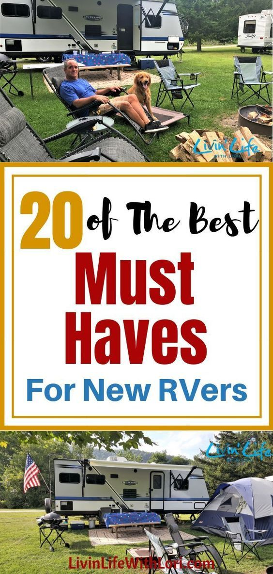 20 Must Haves For New RVers | Livin' Life With Lori